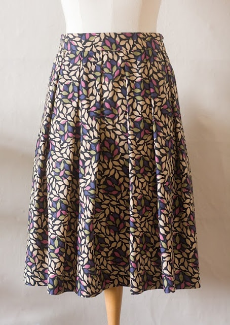 pleated skirt pattern sew what