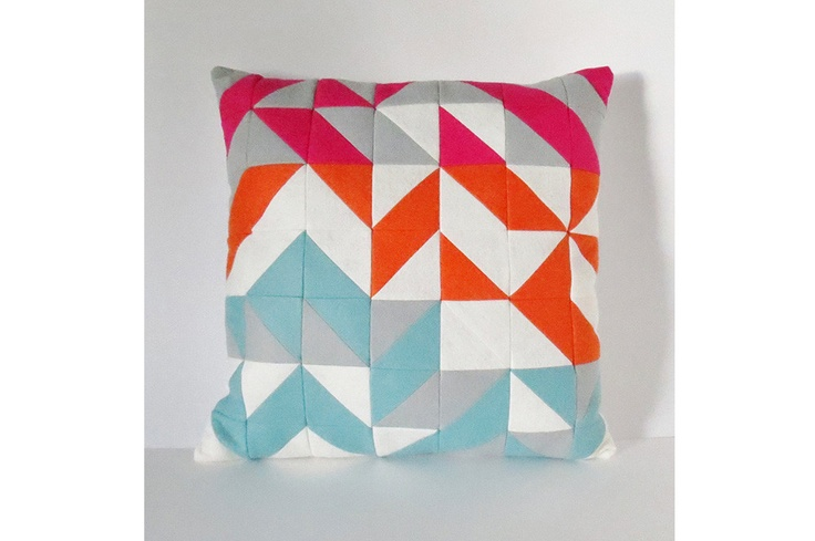 Modern Abstract Pillow by Pixi Hill Kids Spaces Pinterest