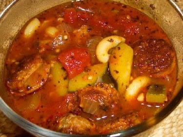 Italian Sausage, Zucchini, and Macaroni Soup   Recipe