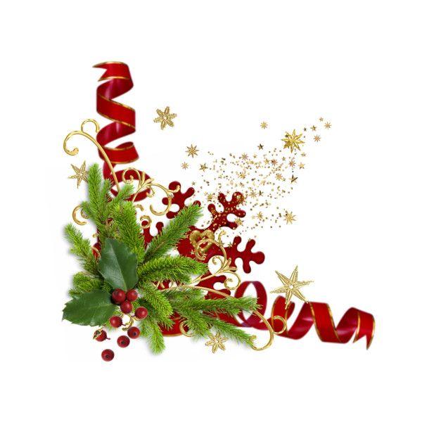 Christmas Garland Clip Art Along With Christmas Corner Borders ...