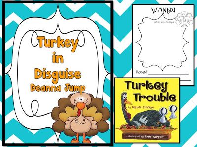 Mrs Jump's class: Turkey Trouble Freebie!