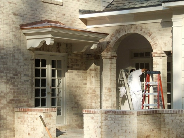 Lime Wash Brick Exterior Exterior Painting Amazing Inspiration Design
