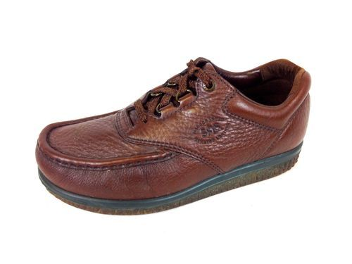 SAS Tripad Shoes Leather Brown Comfort Lace Up Casual Oxfords Mens 7 w