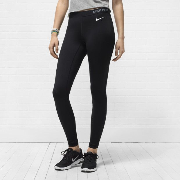 nike pro core ii women 39 s tights stylish workout active. Black Bedroom Furniture Sets. Home Design Ideas