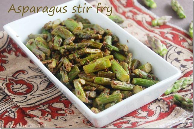 Asparagus stir fry | Food | Pinterest