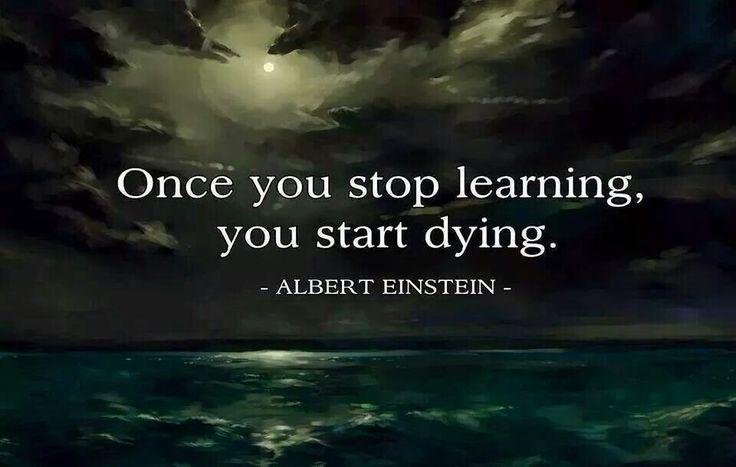 albert einstein keep learning quotes pinterest