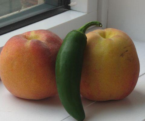 Peach jalapeno jam ~ no pectin | Mouth | Pinterest