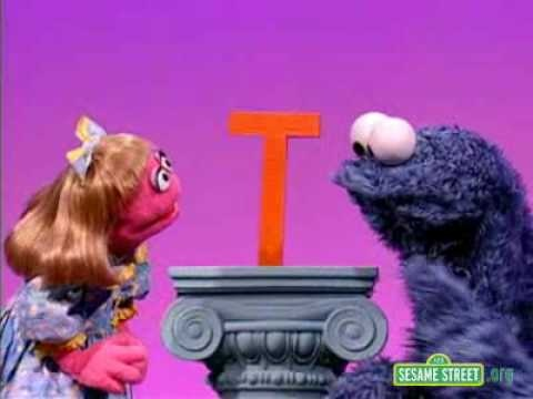 Sesame Street Letter of the Day T | Sesame Street | Pinterest