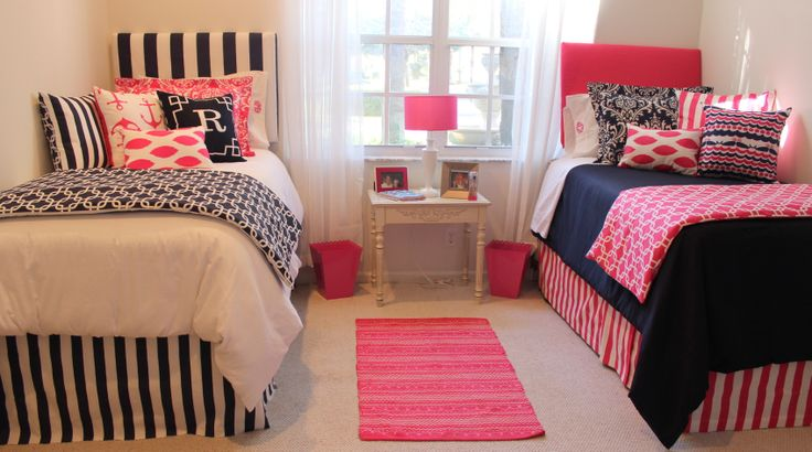 Decorating Ideas > Preppy Dorm Bedding Nautical Dorm Room Bedding Pink And  ~ 104706_Dorm Room Ideas Preppy