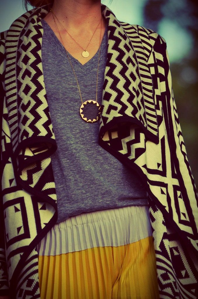 Casual Tribal Sweater