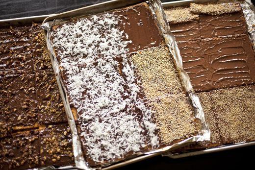 Chocolate Caramel Matzo for Passover   stuff I love   Pinterest
