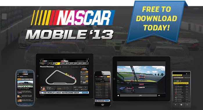 nascar game app for android