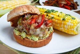 Fajita burgers | Food | Pinterest