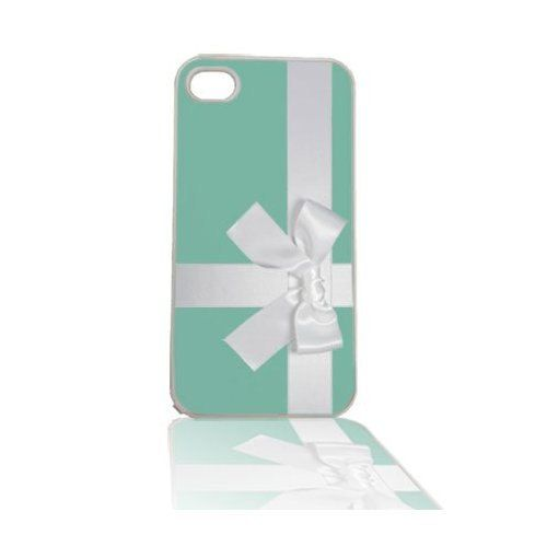 Tiffany Blue Box with Bow iPhone 4 4s Cell Case by humanitysource, $14.95