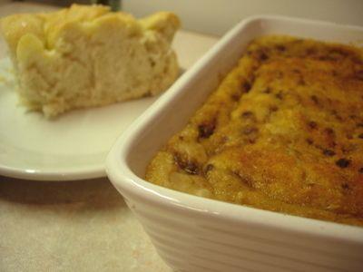 Baked White Bean & Rosemary Spread / Focaccia Bread