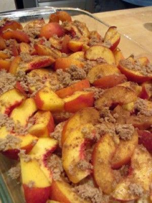 Peaches and Cream French Toast (Easy overnight recipe).