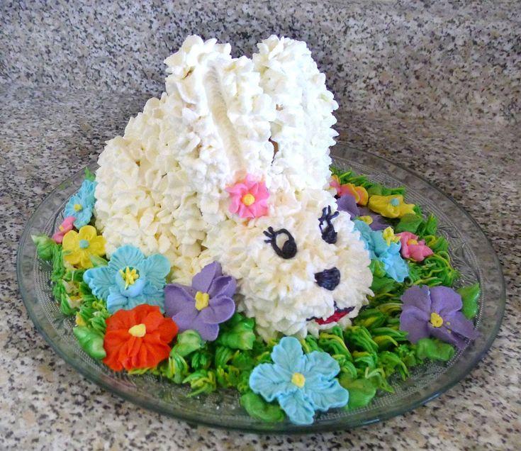 Easter Bunny Cake Wilton cakes