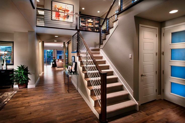 Good combo of modern elements but not open steps