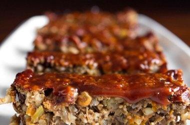 Glazed Lentil Walnut Apple Loaf, Revisited — Punchfork