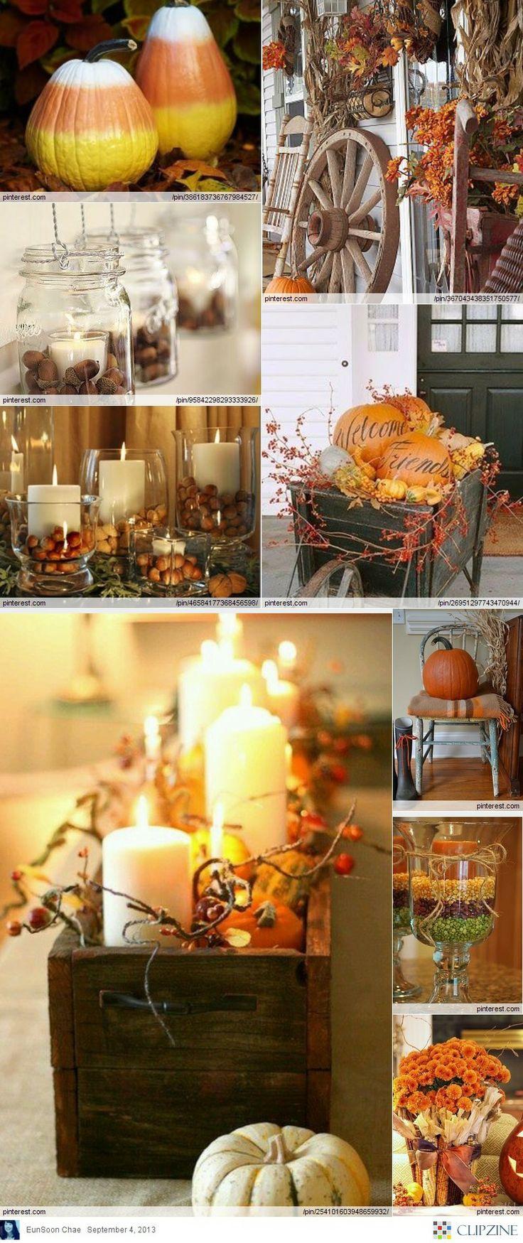 fall decorating ideas halloween pinterest. Black Bedroom Furniture Sets. Home Design Ideas