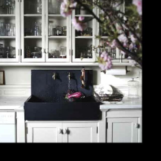 Apron Front Sink With Backsplash : Apron-front sink with backsplash. 120 Riverview Pinterest