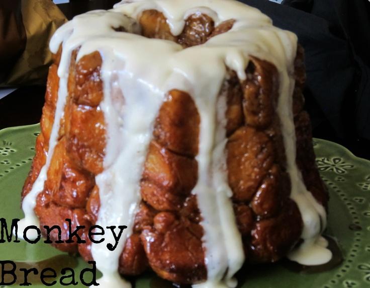 Monkey Bread with Maple Cream Cheese Glaze