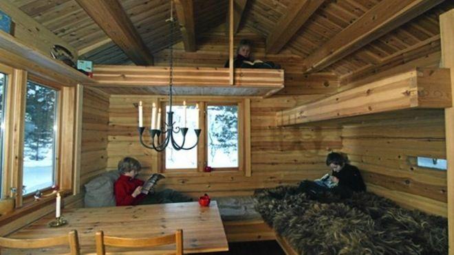 Norwegian Cabin 7 Tiny Homes Pinterest