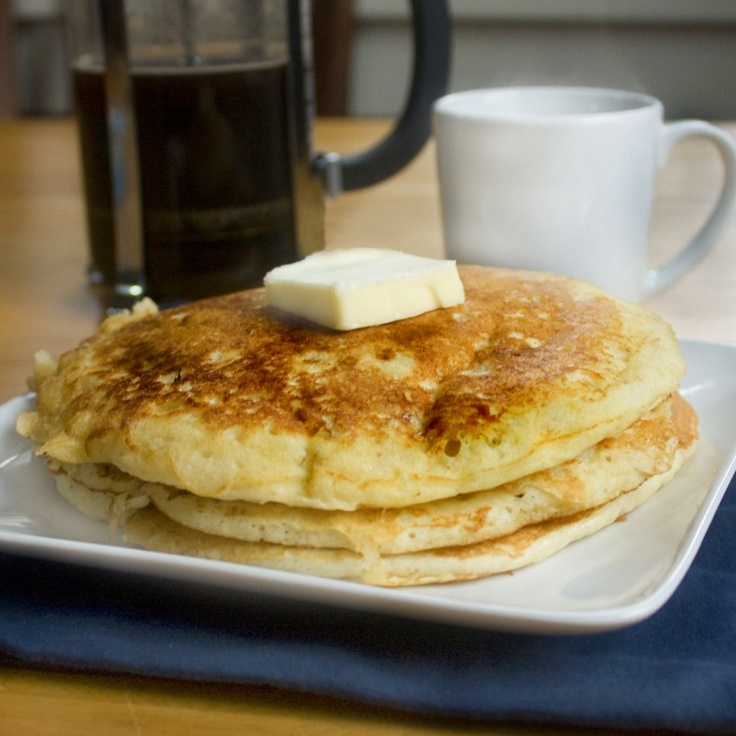 Fluffy Old-Fashioned Pancakes | Breakfast | Pinterest