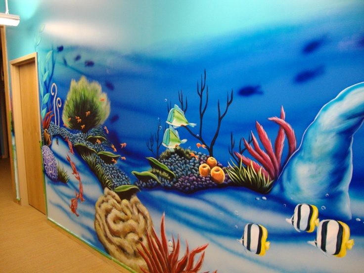 Pinterest for Underwater mural ideas