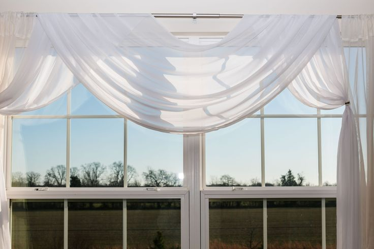 Scarf valances are one of the easiest types to incorporate into your ...