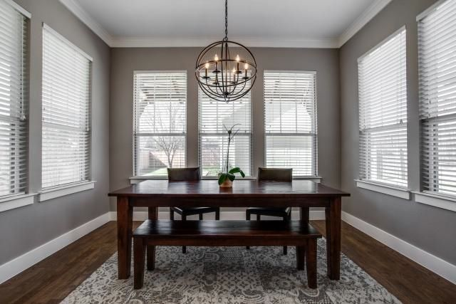 Decorating Cents Orb Chandeliers