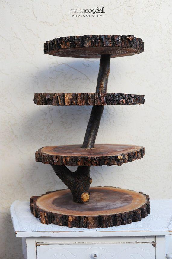 Diy Wooden Stands ~ Wood cupcake stand diy pack natural camphor