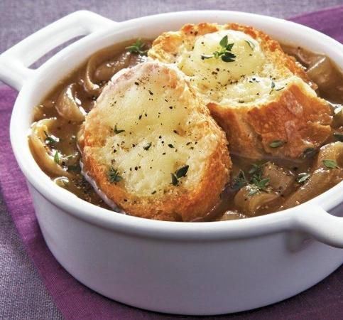 Impressive french onion soup gratinee recipe