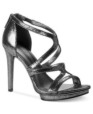 Calvin Klein Women's Versie Evening Sandals