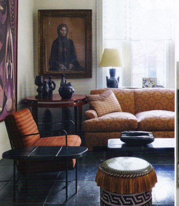 JACQUES GRANGE ~ INTERIOR DESIGN IN LONDON