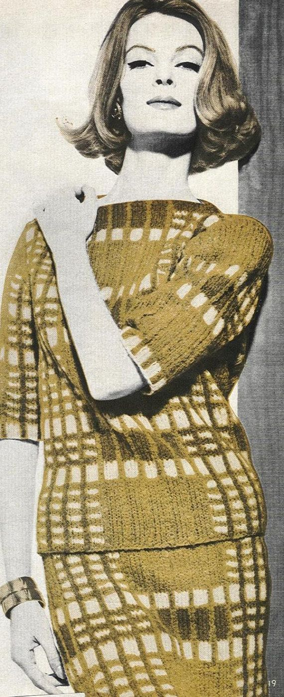 Vogue Knitting 1961 60,s Pinterest