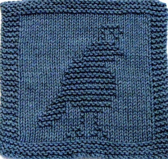 Knitting Washcloth Patterns : Knitting Pattern - Quail Washcloth - PDF Things I want to make Pi?