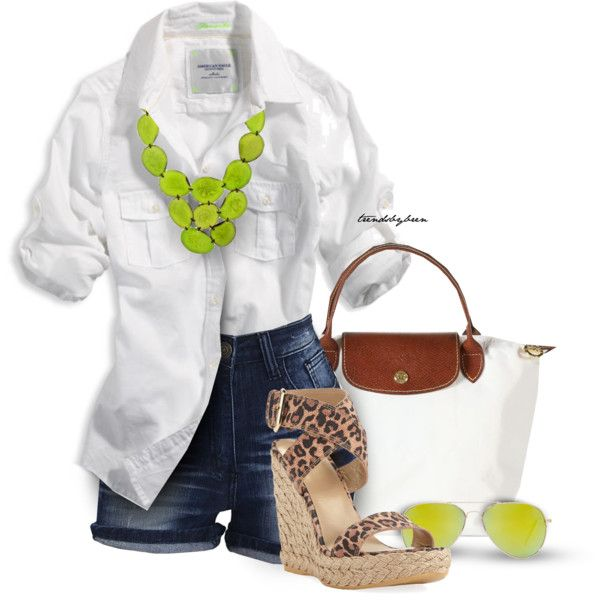 Fresh Spring Outfit, created by trendsbybren on Polyvore