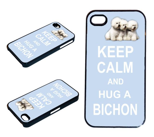 Keep Calm AND HUG a Bichon