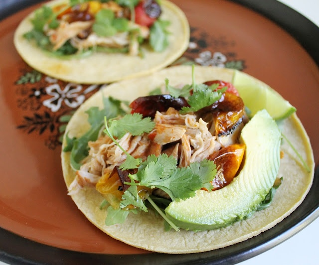 Beer Braised Chicken Tacos, Slow-Cooker Style