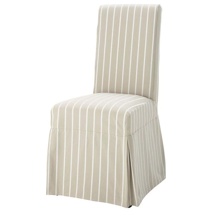 Housse de chaise margaux beausoleil pinterest for Housse de chaise universelle