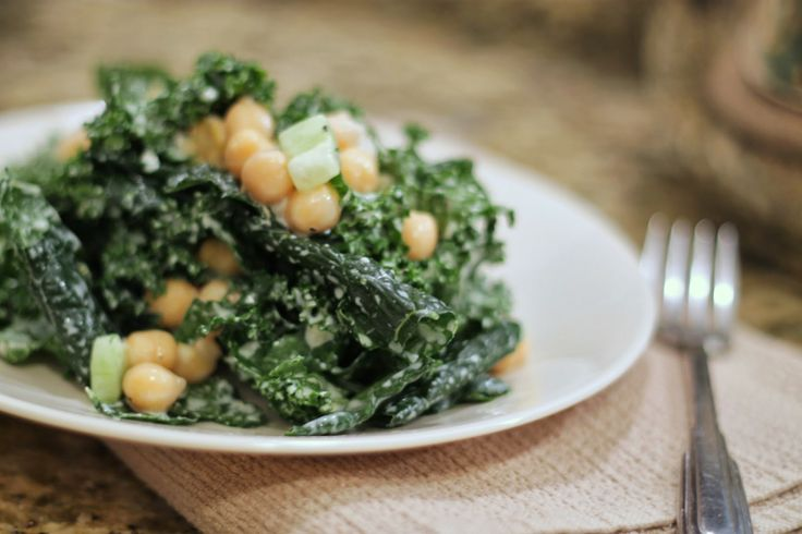 ... Dressing and Chickpeas} …would be good with pan fried chickpeas