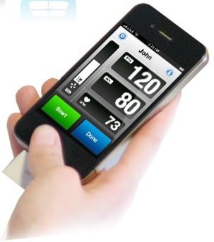 Blood Pressure Monitor for your iPhone!