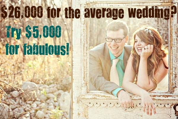 14 amazing weddings under 5 grand--I'll be glad I repinned this one day!