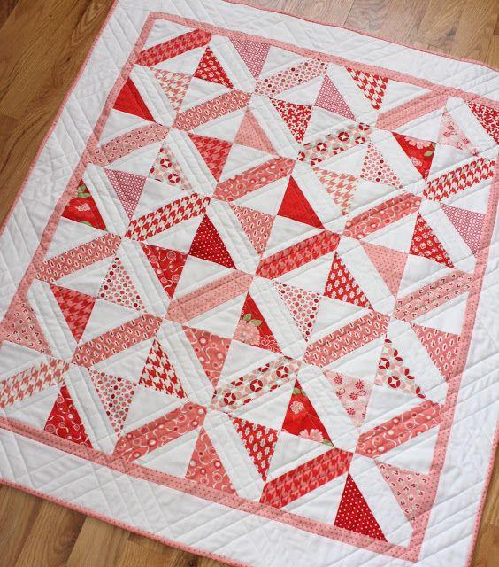 Modern Nursery Quilt Patterns : Modern Baby quilt pattern. Quilt Ideas Pinterest