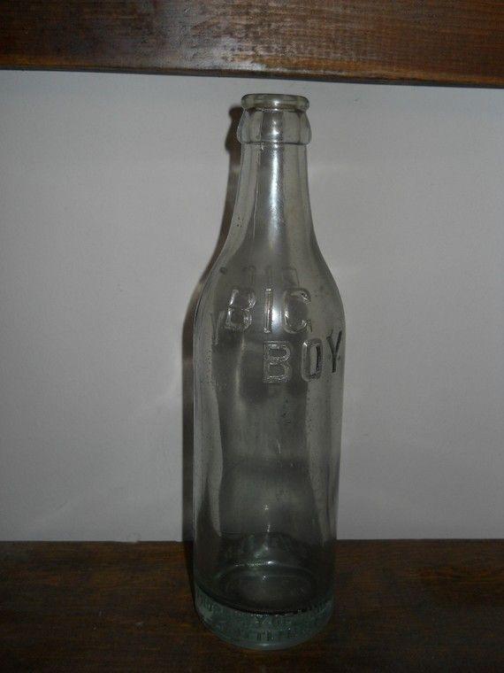 Antique/Vintage Sonny Boy Glass Baby Bottle