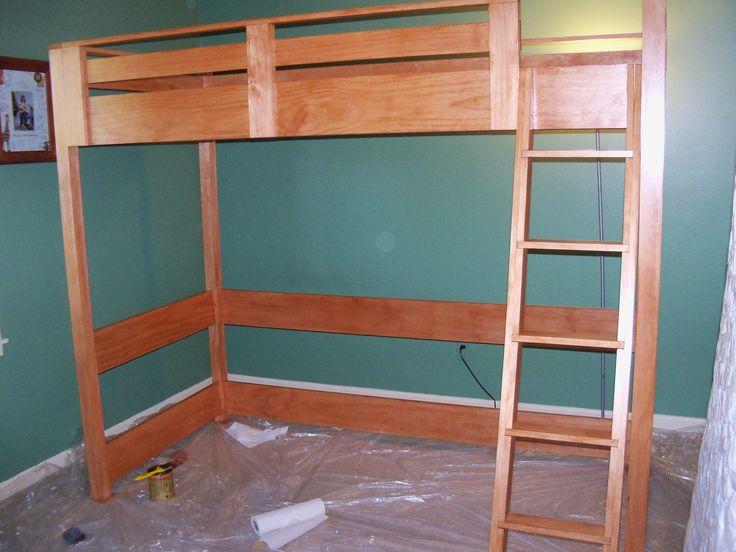 Best Ana White Loft Bed My Home Pinterest 640 x 480
