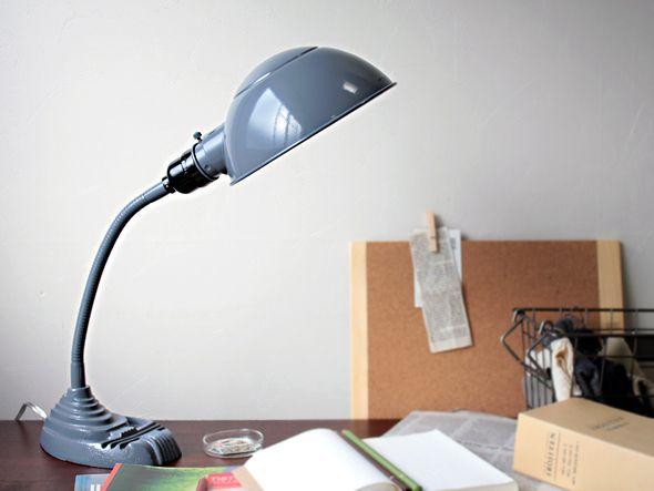old school desk lamp polish enlightening pinterest. Black Bedroom Furniture Sets. Home Design Ideas