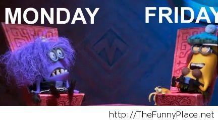 Download Monday vs friday with minions
