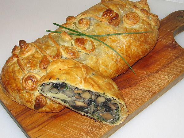 Mushroom Strudel Recipe | Recipes ~ Sides, Vegetables and Vegetarian ...